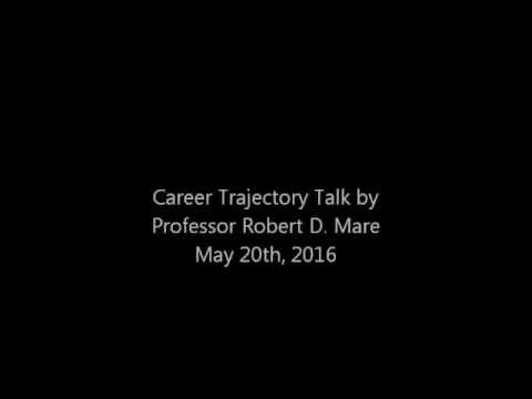 Embedded thumbnail for Professor Robert Mare's Career Trajectory Talk