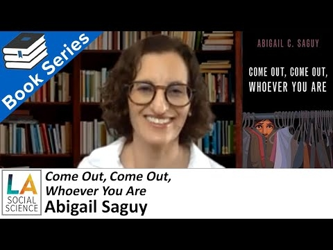 Embedded thumbnail for Come Out, Come Out, Whoever You Are - Interview with Author Abigail Saguy